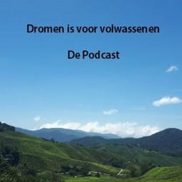 Logo van Dromen is voor Volwassenen - De Podcast